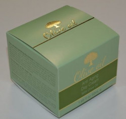 Digital embellishments from MGI equipment can provide foiling effects on packaging, such as in the example above.