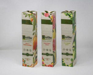 Hub Folding Box offset printed carton