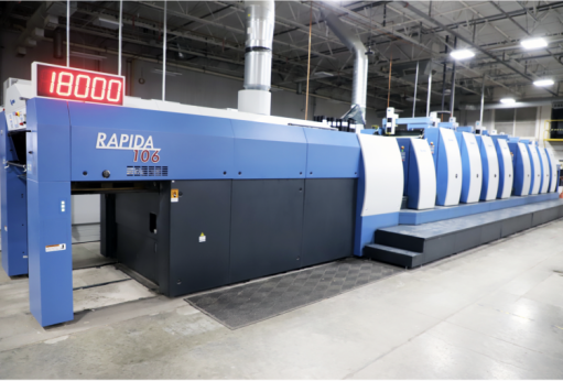 Cedar Graphics achieves 30% increase in productivity and increased customer satisfaction with its Koenig & Bauer Rapida 106.
