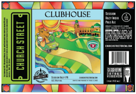 Church Street Brewing utilizes digital printing capabilities from International Label & Printing Co. Image courtesy of Church Street Brewing Co.