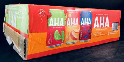 TC Transcontinental Packaging has announced Integritite 30% post-consumer recycled collation shrink film, which can be found on the AHA Sparkling Water printed case wrap.