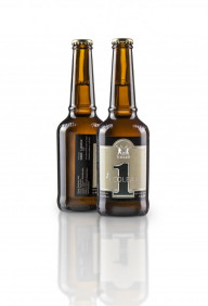 First beer label to feature EcoLeaf produced metallic decoration.