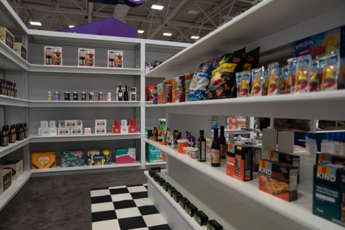 The PRINTING United Experience Zone highlighted packaging applications at the 2019 expo.