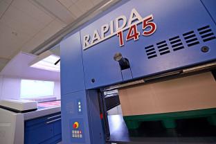 Koenig & Bauer Rapida 145 57-inch press