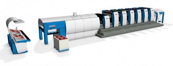 Royal Paper Box has added a third six-color, 41˝ KBA Rapida 106.