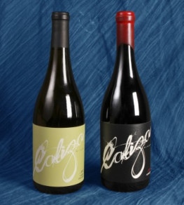 These wine labels, printed by WS Packaging Group, feature tactile special effects including debossing and a scuff varnish.