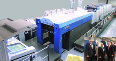 TPC Printing and Packaging has installed a new KBA Rapida 105.