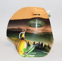 Mondi's teapot-shaped SUP can be printed via flexo or gravure processes and enhanced with metallic and matte finishes.