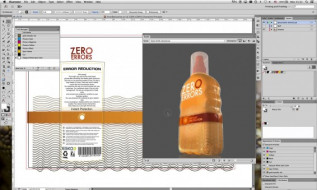 Esko Visualizer shows how print jobs will look on a variety of substrates and with various finishes.