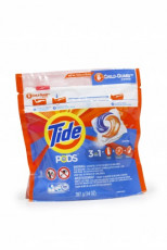 Tide Pods have implemented the Child Guard Child Resistant Slider from Presto Products to increase the safety of its packaging.