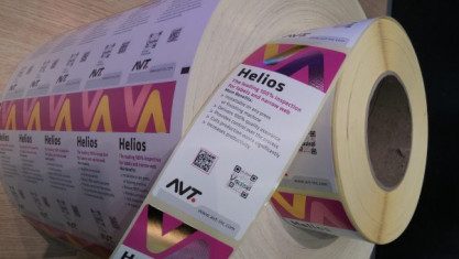 Helios from AVT is an example of an inspection system for narrow-web print production.
