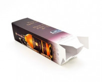SoOPAK produced this offset printed folding carton with interlocking bottom flaps, which give it a higher level of security.