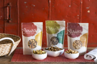 Nuts About Granola has transitioned much its packaging to digital, including these pouches. This packaging in particular was designed by The Infantree.