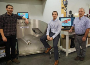 H. Moore Printing Services has added a Colordyne 2600 Series Mini Press.