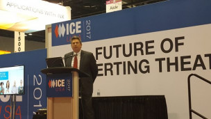 Kevin Joesel of Heraeus Noblelight was one of the speakers in the Future of Converting Theater at ICE USA.