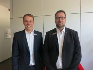 From left, Christian-Marius Metz, CEO of IST Metz GmbH and Holger Kühn, managing director, sales, IST Metz.