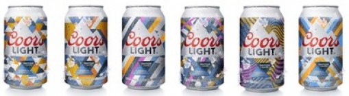 'Summer Certified' cans exclusive to Canadian market, six limited edition designs come to life when exposed to sunlight (CNW Group/Molson Coors Canada)