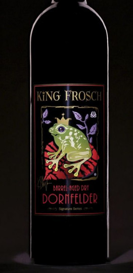 King Frosh label Adcraft Labels