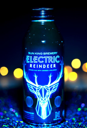 Sun King Brewery, Electric Reindeer, Newfields,