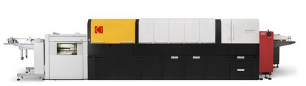 Kodak's new Nexfinity sheetfed digital press is a high-output version of the NexPress platform.