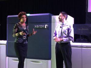 Iridesse digital press lauched by Xerox