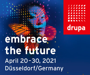 drupa printing industry trade show rescheduled for April 20-30, 2021.