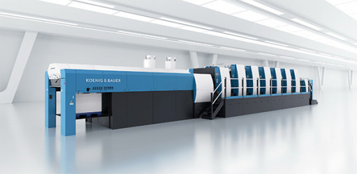 Oliver Inc. invests in a Koenig & Bauer Rapida 145 device.