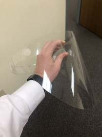 Allied Printing is manufacturing medical face shields.