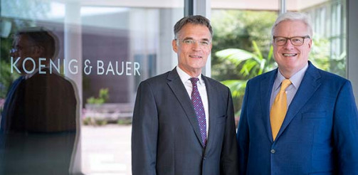 Koenig & Bauer appoints Dr Andreas Pleßke as management board spokesman.