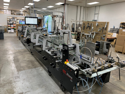 Riddle Press has installed a Easymatrix 106 CS and Diana Go 85.