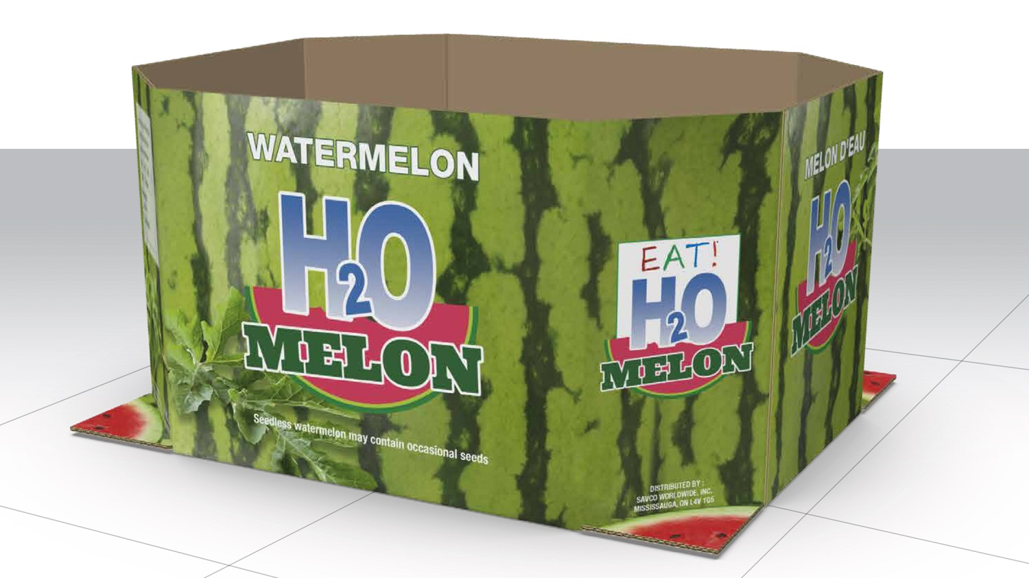 Watermelon Brand Utilizes HP Digital Corrugated Printing for